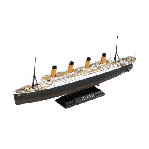 Academy Boat Model Building Kit, R.M.S. Titanic Centenary Edition (Model Plastic Edition)