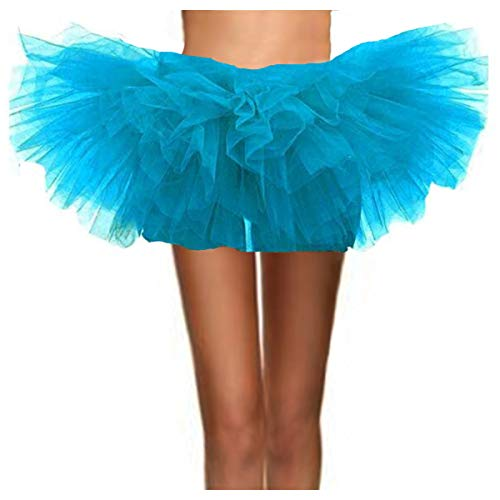 ASSN Women's Classic 80s Mini Puffy Tutu Halloween