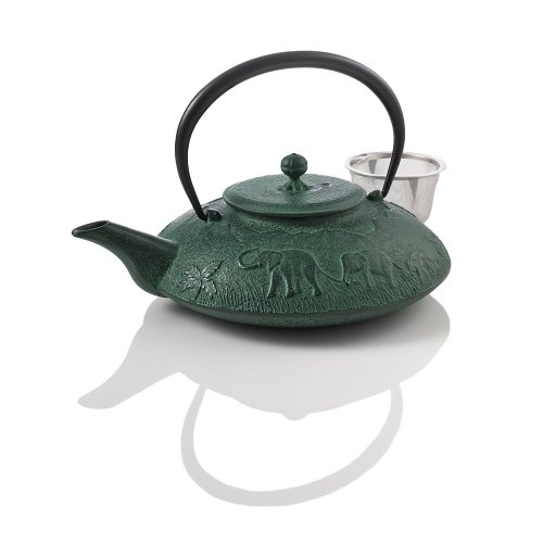 Shop tea store the tea supply - Elephant cast iron teapot ...