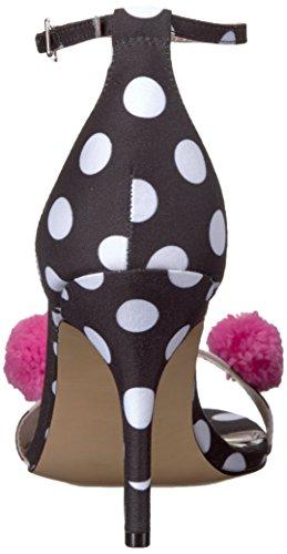 Blu By Betsey Johnson Womens Lylly Dress Sandalo Nero A Pois