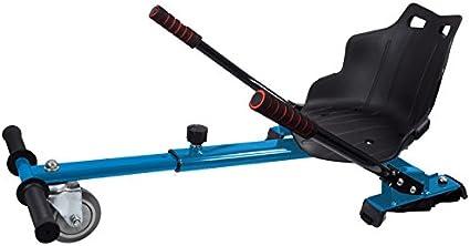 MOBILE+ Asiento Kart para Patinete eléctrico/HOVERKART (Azul): Amazon.es: Deportes y aire libre