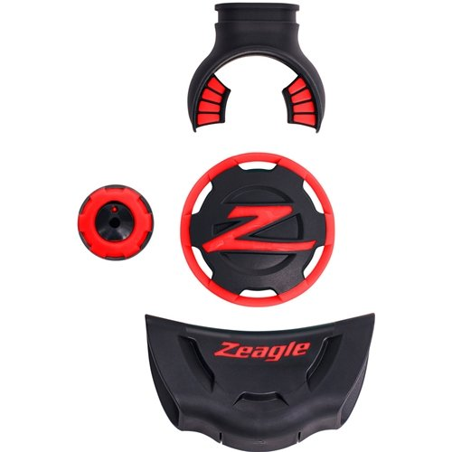 Zeagle Scuba Second Stage Regulator F8 Regulator Color Cover Kit (Red)