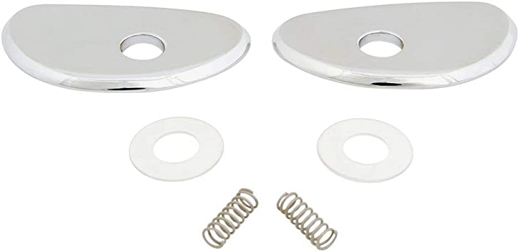 1965 1966 Ford Mustang Chrome Door Handle Escutcheon Shield Plate LH Pony NEW