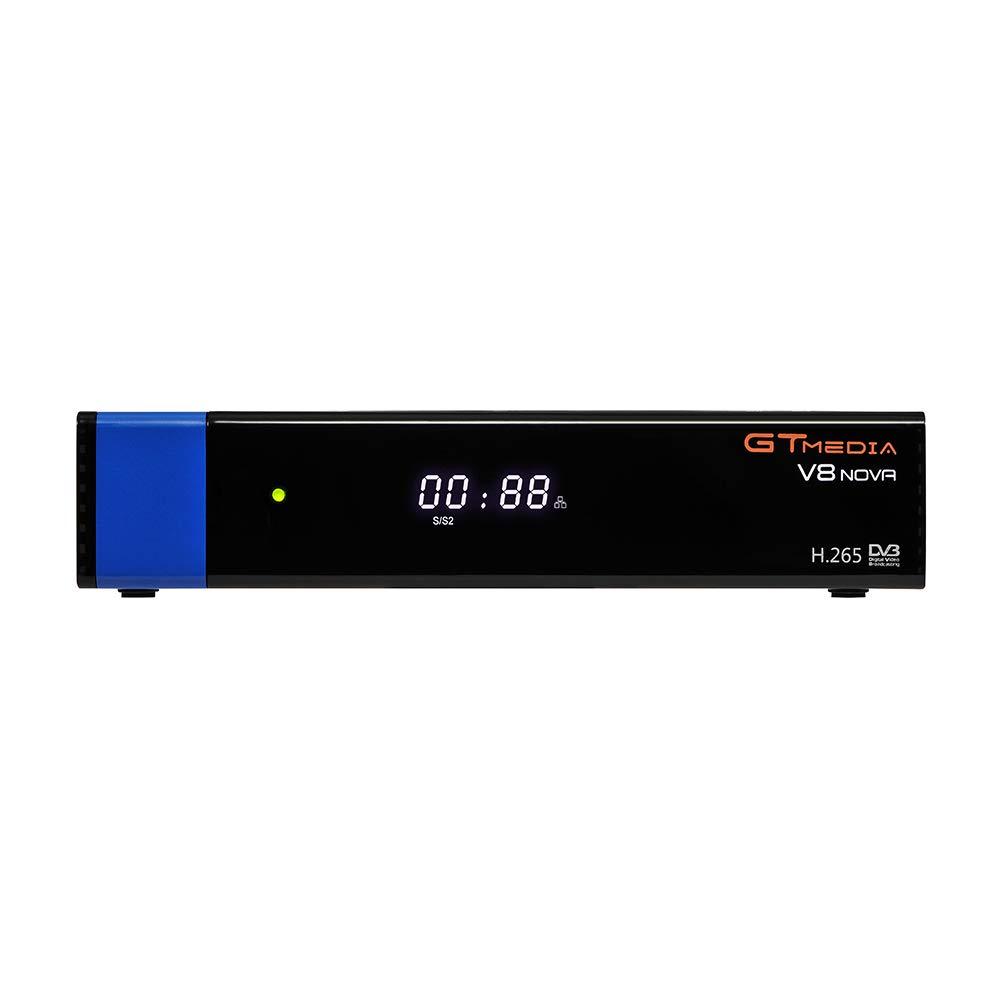 Docooler GTMEDIA V8 NOVA Blue Set Top Box Universal DVB-S2 TV Receiver Digital Video Broadcasting Receiver Full HD 1080P Built-in WiFi Support H.265 EPG by Docooler (Image #8)