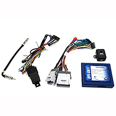 PAC RP5-GM11 Radio Replacement Interface With Built-In OnStar Retention/Steering Wheel Control Retention/Navigation Outputs for Select GM Class II Vehicles: Car Electronics