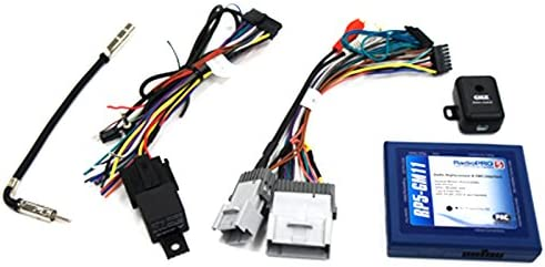 gm radio chime interface wiring diagram amazon com pac rp5 gm11 radio replacement interface with built in  pac rp5 gm11 radio replacement