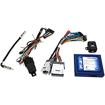 41KSL9CrXNL._SL500_AC_SS350_ amazon com pac rp5 gm11 radio replacement interface with built in  at creativeand.co