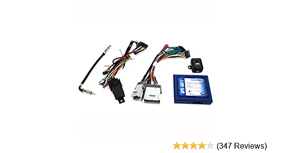 amazon com pac rp5 gm11 radio replacement interface with built in rh amazon com GM Radio Wire Adapter 2001 GM Bose Radio Harness