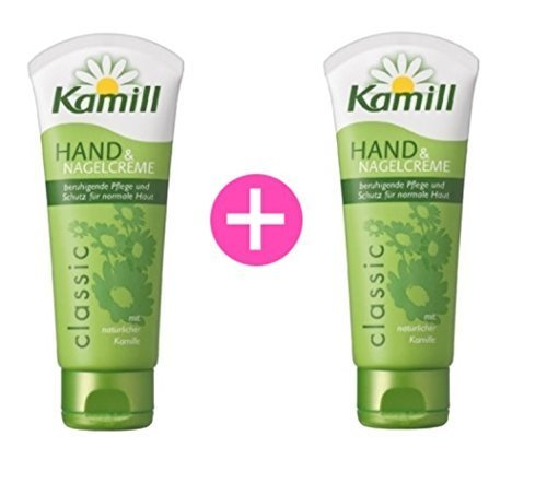 kamill Hand and Nail Cream Classic with Natural Chamomile 3.3 Oz 100 (100ml Hand Cream)
