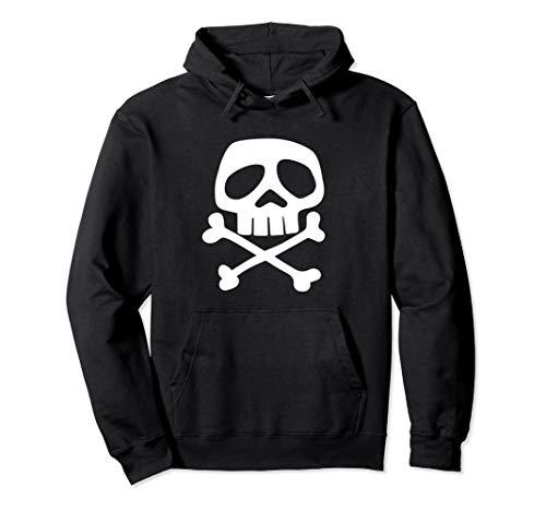Hoodie Skull and Bones - 1980's Punk Rock Misfit