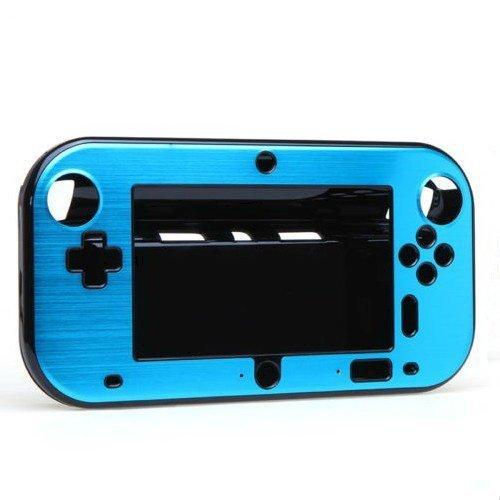 Goliton Anti-shock hard plastic box cover case shell for Nintendo Wii U Gamepad - Light blue