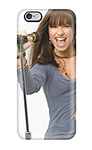 Fashion ALuLjVy8120tiUET Case Cover For Iphone 6 Plus(demi Lovato Singing)