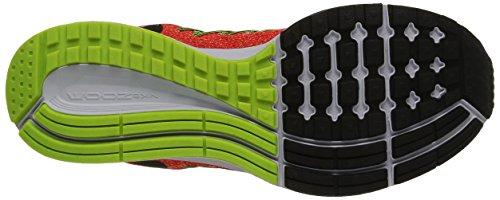 Nike Herren Air Zoom Pegasus 32 Laufschuhe mehrfarbig (Brght Crimson/Blk-Brly Vlt-Vlt)