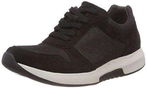 Derbys Shoes 27 Femme Rollingsoft Schwarz Gabor Noir EgAqAW