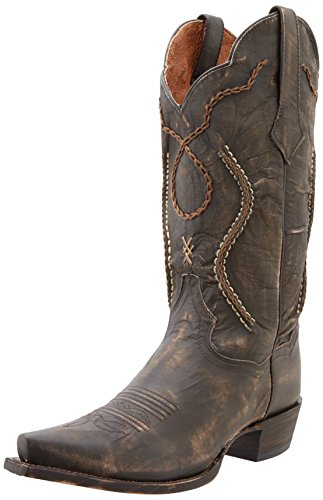 Dan Post Men's Tyree Western Boot,Chocolate Rust,9.5 D US