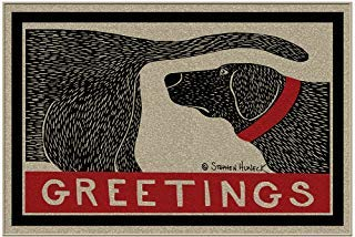 (ALLU Humorous Dog Sniffing Welcome Doormat Offers Unique Greeting To Your)