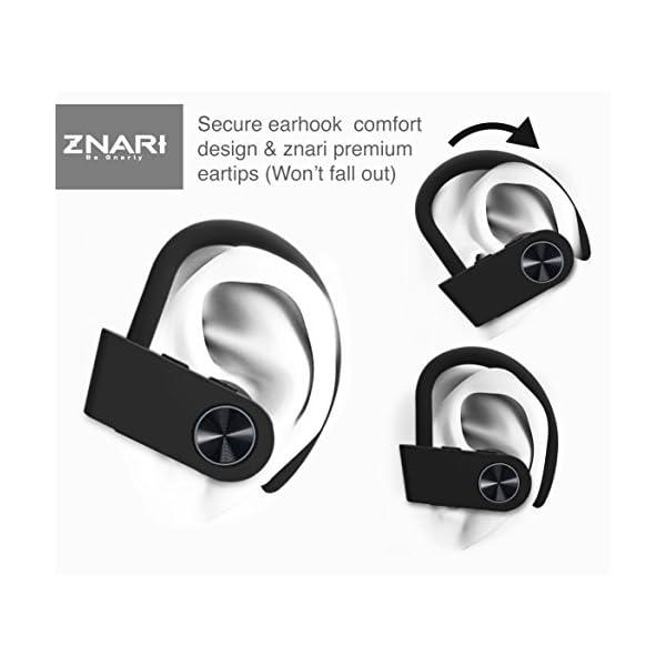 True Wireless EARBUDS Totally Truly Bluetooth 5 Power Pro Sports Beats Noise Cancel Isolation Waterproof IPX7 Black Grey 7