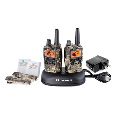 Midland 36 Channel/38 Mile Two Way Radio with 121 Codes, W/X