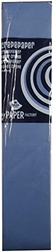 50cm x 250cm Blue Grey Large Crepe Paper