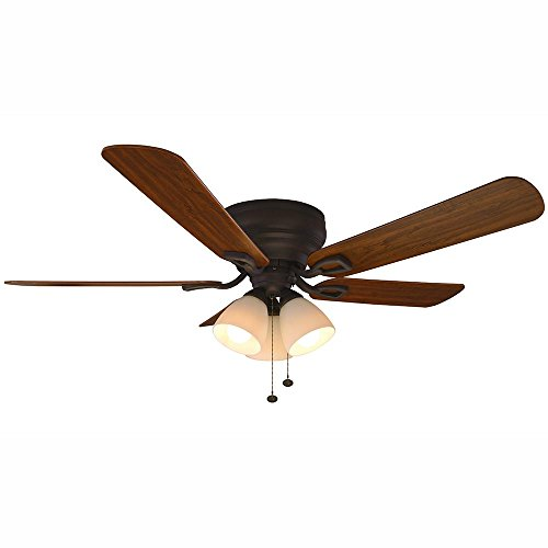 Hampton Bay 51732 52 in. Blair LED Oil-Rubbed Bronze Ceiling Fan