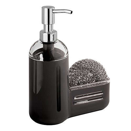 mDesign Kitchen Dispenser Sponge Caddy