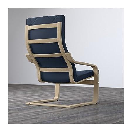 Amazon.com: IKEA Sillón, chapa de abedul, edum Azul Oscuro ...