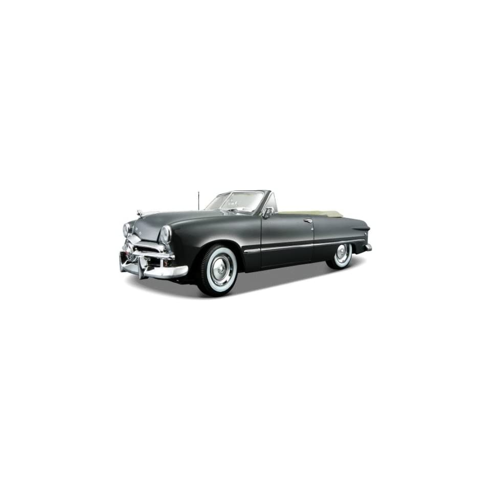 1949 Ford Convertible Gray Diecast Car Model 118
