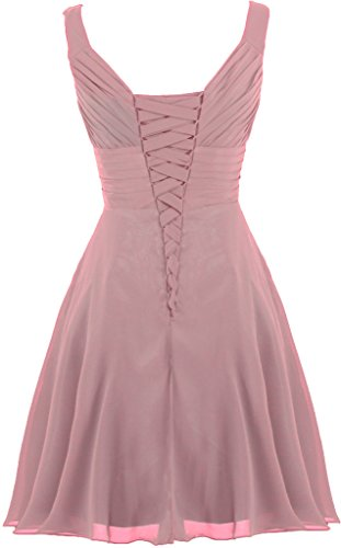 Bridesmaid Line Gown ANTS Pink Dresses Women's Pleated Cocktail Sweetheart A tZwSYq