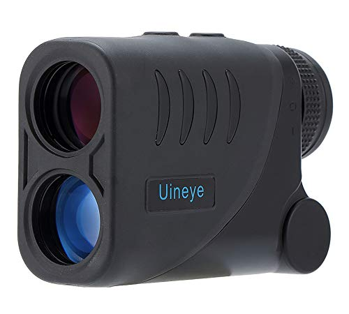 Laser Rangefinder - Range : 5-1600 Yards, 0.33 Yard Accuracy, Golf Rangefinder with Height, Angle, Horizontal Distance Measurement Perfect for Hunting, Golf, Engineering Survey (Black Mini)