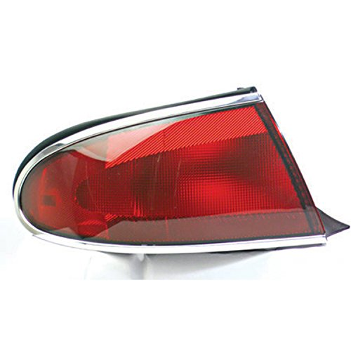 HEADLIGHTSDEPOT Tail Light Compatible with Buick Century Left Driver Side Tail Light