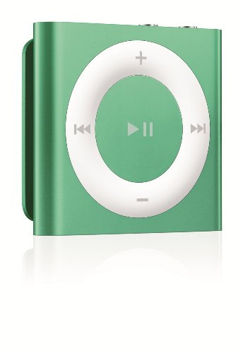 Apple iPod Shuffle 2GB (4th Generation) NEWEST MODEL (Green)(Refurbished)