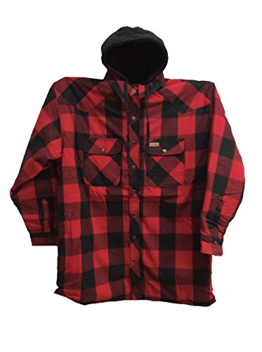 Quilt Lined Hooded Jacket - 9