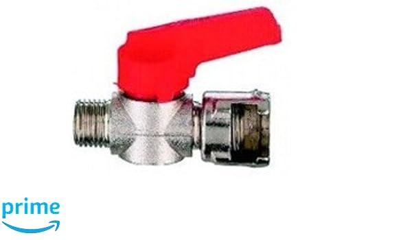 MAURER 17030060 Llave Paso Con Tuerca Bayoneta 1/4 (Blister 1Pieza): Amazon.es: Bricolaje y herramientas