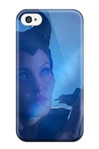 New Maleficent Movie: Angelina Jolie Pictures Tpu Case Cover, Anti-scratch Phone Case For Iphone 4/4s