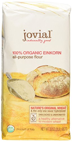 Jovial: Organic Einkorn Flour, 32 oz (2 pack) by Jovial