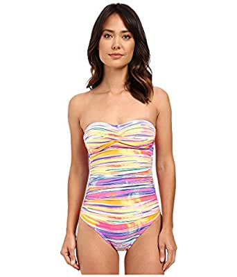 Lauren Ralph Lauren Women's Summer Tie-Dye Twist Bandeau