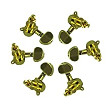 Gold 3L3R grover style tunning pegs Tuners Machine Heads High Quality