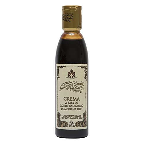 - Giuseppe Giusti Italian Blasamic Vinegar Reduction of Modena IGP Reduction 8.45 fl oz (250ml)