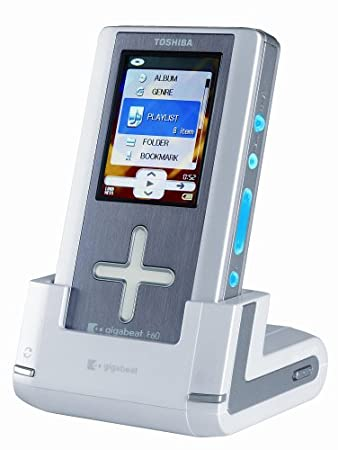 amazon com toshiba gigabeat meg f60s 60 gb digital audio player rh amazon com Toshiba Gigabeat S30 Toshiba Gigabeat Support