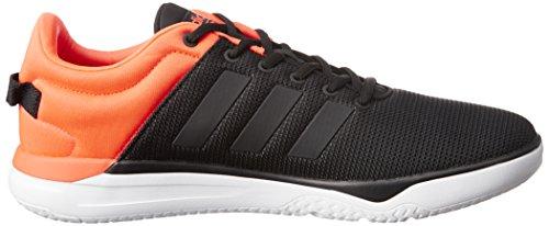 Adidas CLOUDFOAM (negbas Swish Herren Sportschuhe, Schwarz/negbas/rojsol) 451/3