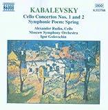 Kabalewski Cellokonzert 1 und 2 Golo