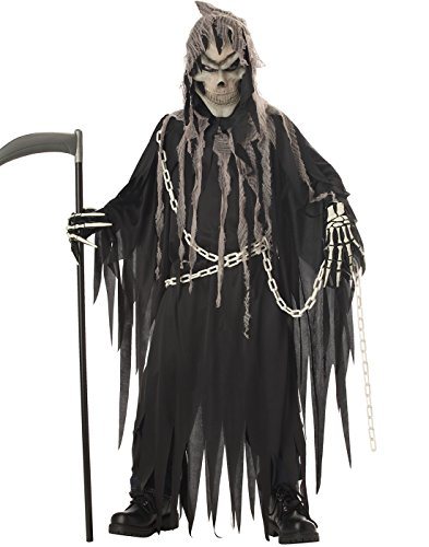 Scary Halloween Costumes - California Costumes Toys Mr. Grim, X-Large