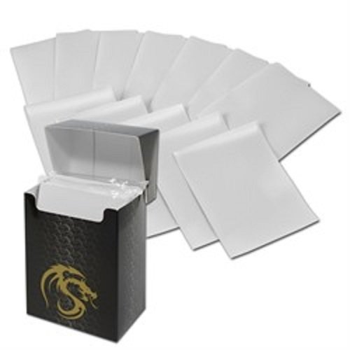 (36) White BCW Deck Guard Packs - Trading Card Sleeves - 80 Sleeves per Pack - BCW-DGM80-WHI