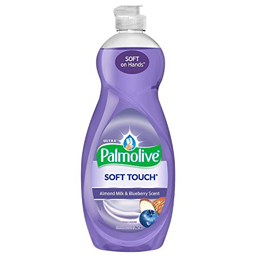 Spring Palmolive Dish - Palmolive Ultra Dish Liquid, Soft Touch Almond Milk and Blueberry Scent, 32.5 Ounce ( 2 pack )