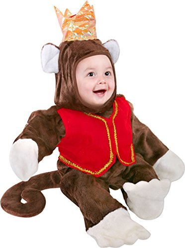 Infant Circus Monkey Baby Halloween Costume (6-12 Months) ()
