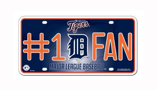 MLB Detroit Tigers #1 Fan Metal Tag ()