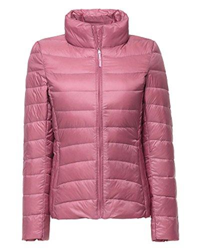 Hiver Matelasse Chaud Manteau Court Veste Lgre Courte Blouson Femme Pink Doudoune xwqY18XH1