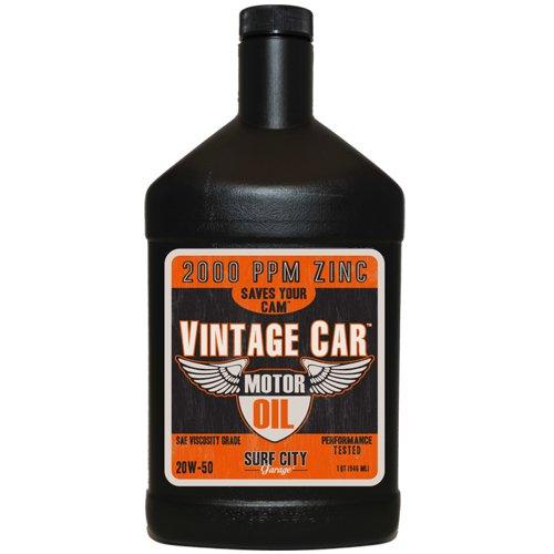 Surf City Garage 517 20W-50 Vintage Car Motor Oil, 1 (Surf Conventional)