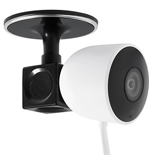 Ceiling/Wall Cube Mount for Nest Cam Outdoor by Wasserstein – Mount up to 5 Nest Cam Outdoor Cams in one Place (Black)