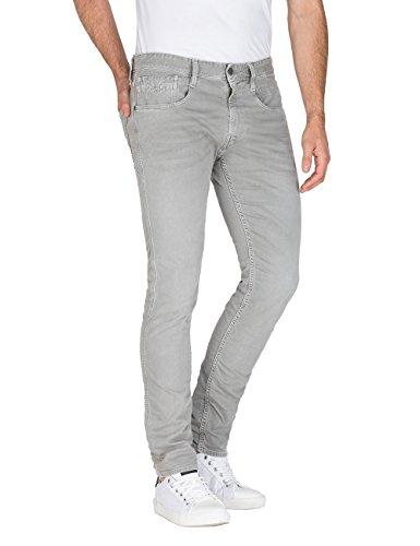 Replay Jeans light Slim Anbass 110 Grey Uomo Grigio wFwRaqgZ
